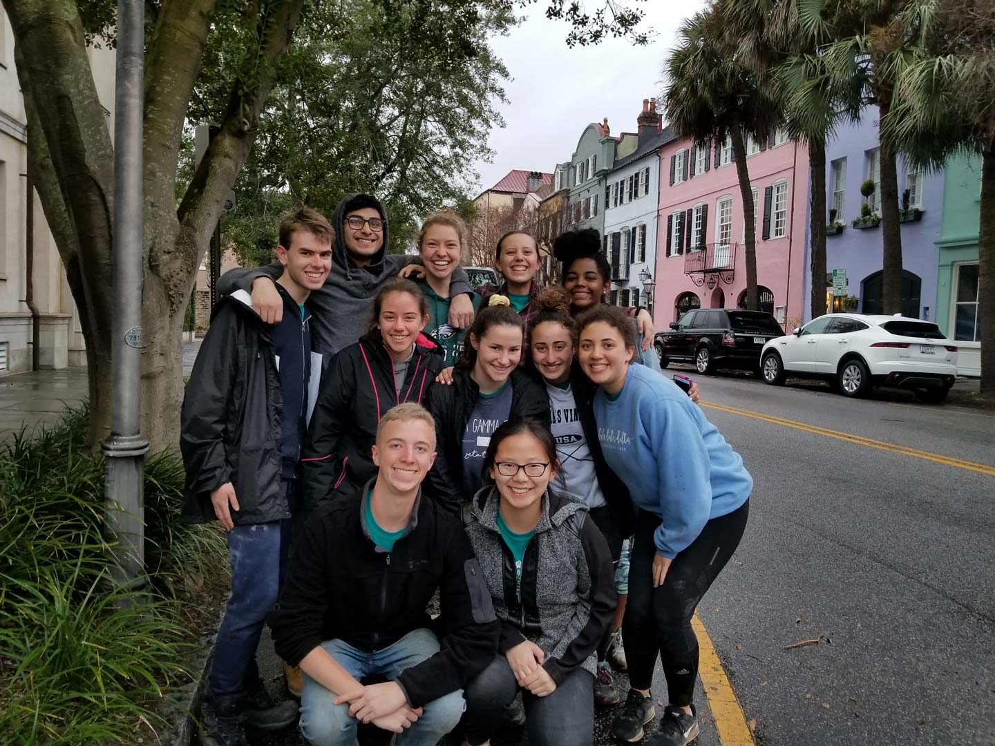 Lafayette students who served Foundations for the Future in New Orleans